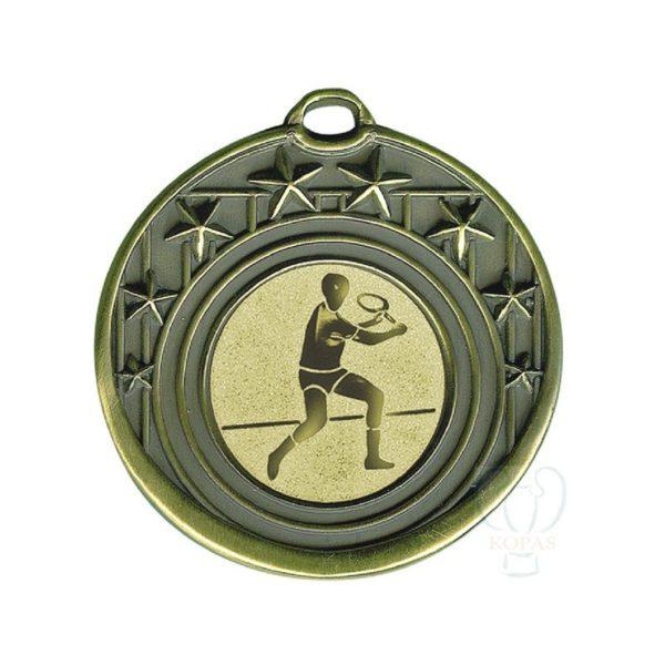 Medalla fundición estrellas