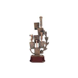 Trofeo ajedrez resina