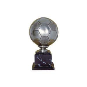 Trofeo fútbol balón resina