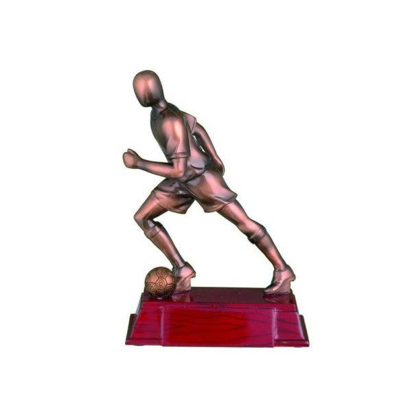 Trofeo fútbol resina