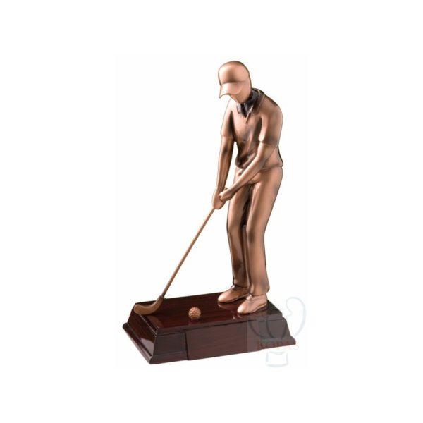 Trofeo golf resina