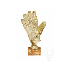 Trofeo fútbol portero resina