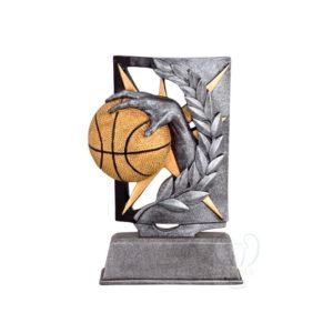 Trofeo baloncesto resina económico