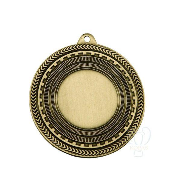 Medalla estampada oro viejo