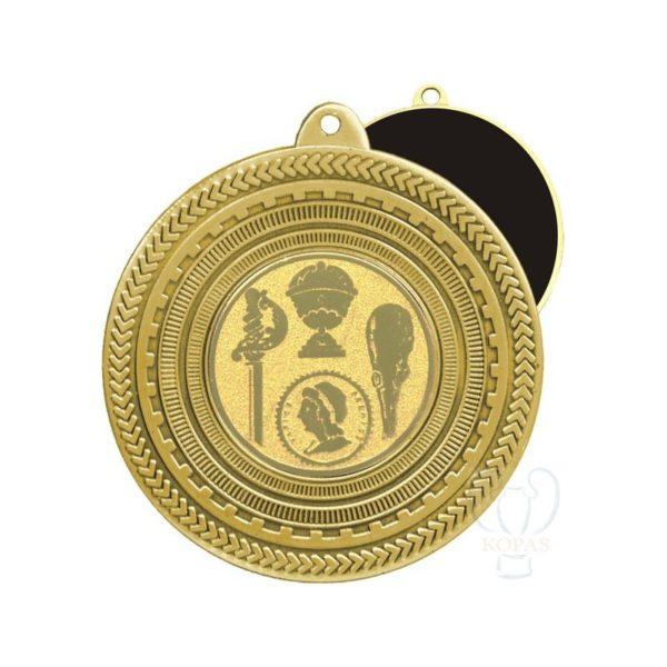 Medalla estampada oro