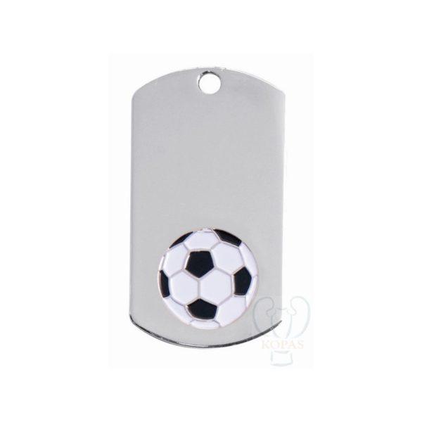 Placa llavero fútbol