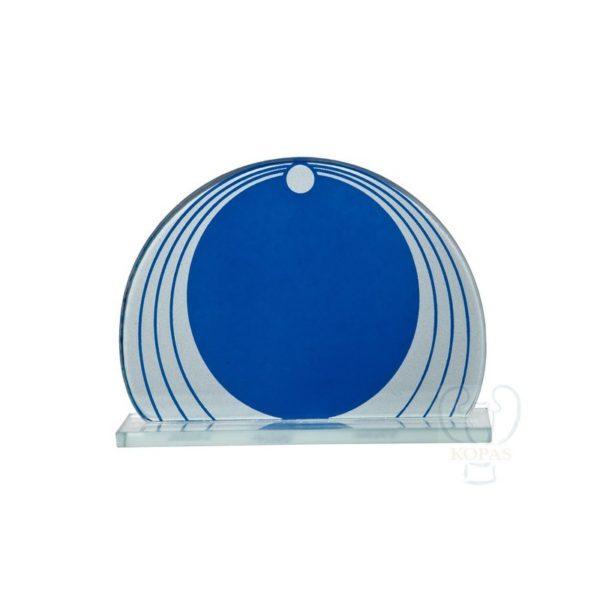 Trofeo de cristal bicolor
