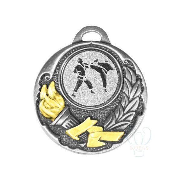 Medalla deportiva de fundición