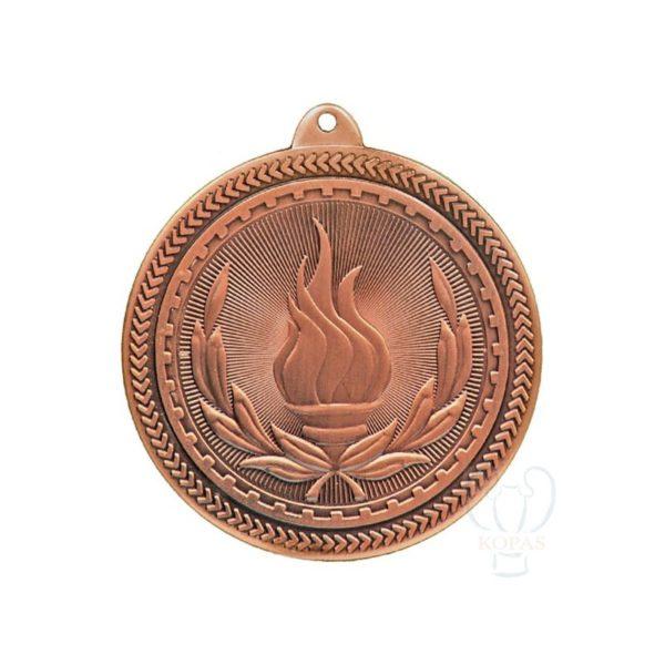 Medalla deportiva antorcha