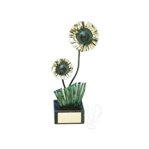 Flor metálica MARGARITA