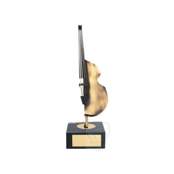 Trofeo de música bajo