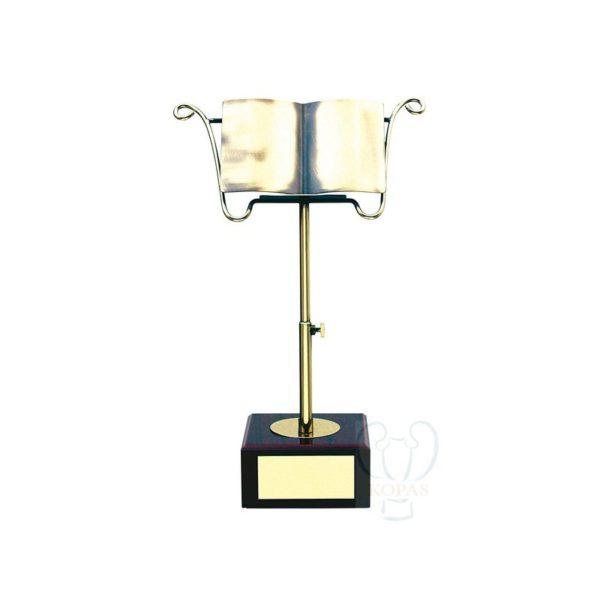 Trofeo de música atril