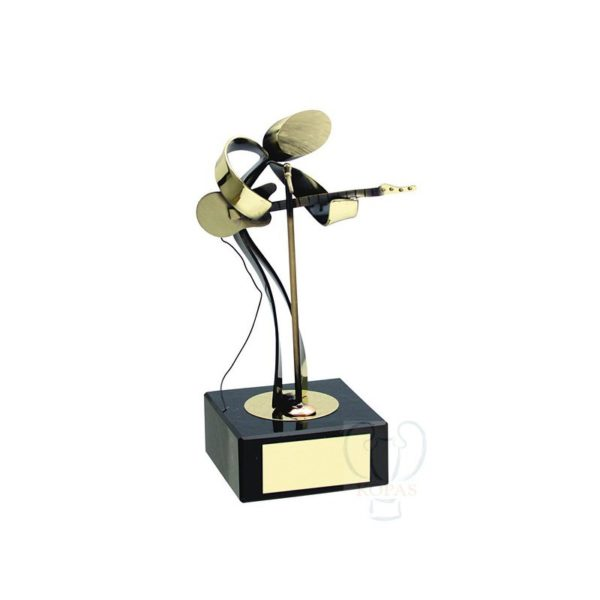 Trofeo de música guitarrista