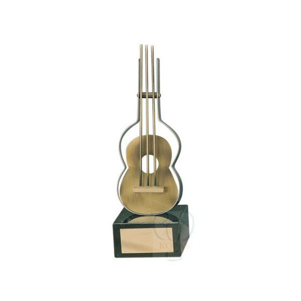 Trofeo de música guitarra