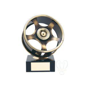 Trofeos para automovilismo llanta