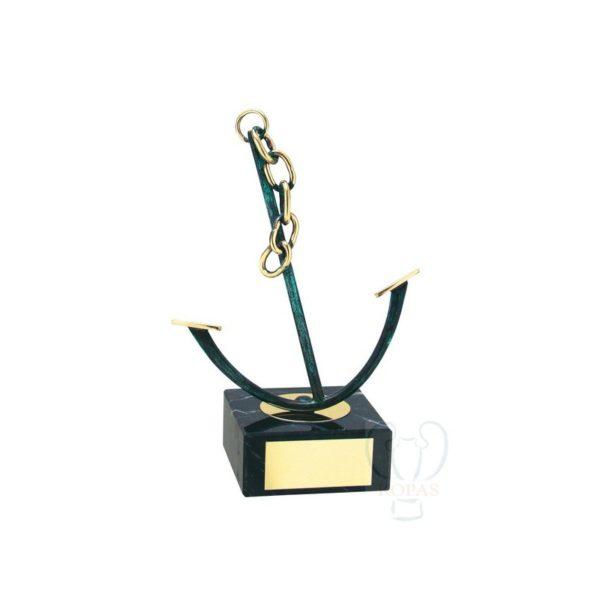 Trofeos de vela ancla