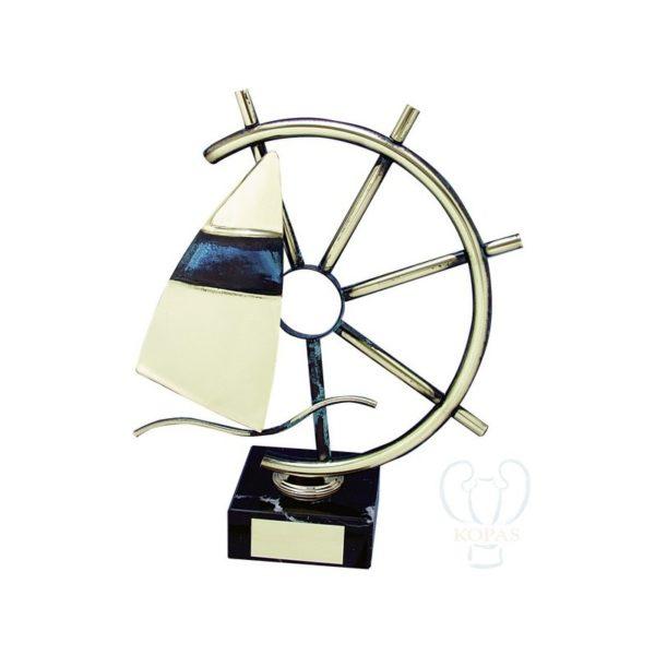 Trofeos de vela timón