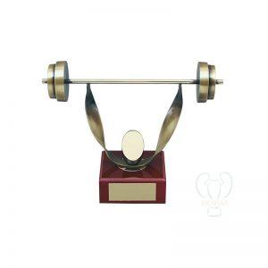 Trofeos de halterofilia